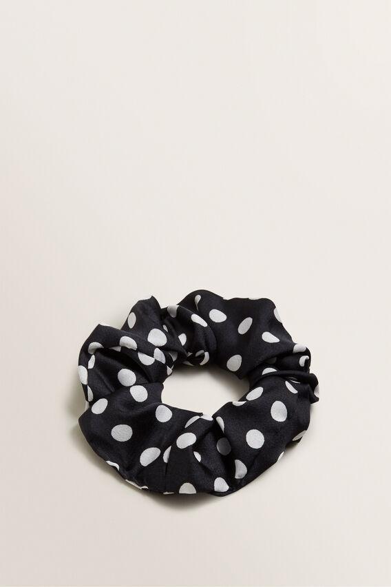 Scrunchie  BLACK SPOT  hi-res