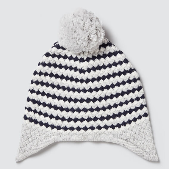 Bubble Knit Beanie  CLOUDY MARLE  hi-res