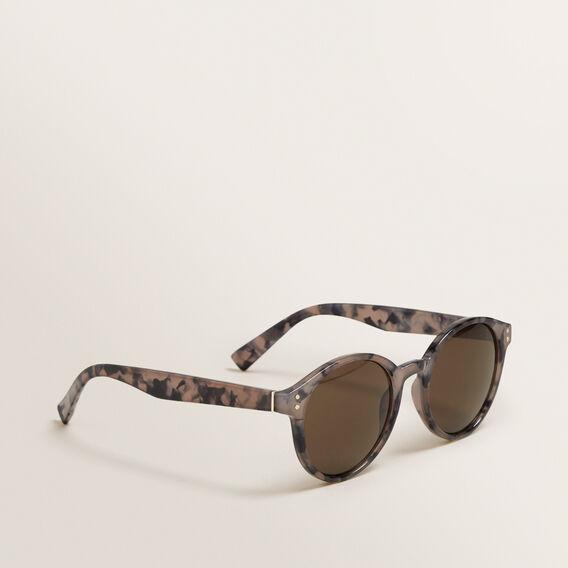 Charlotte Round Sunglasses  LIGHT TORT  hi-res