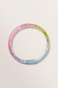 Rainbow Glitter Bangle  MULTI  hi-res