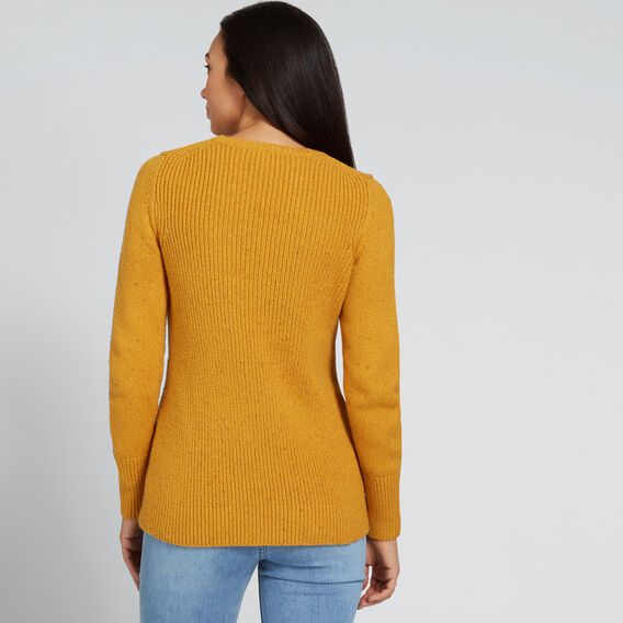 Vintage Marle Sweater  GOLDEN MUSTARD FLECK  hi-res