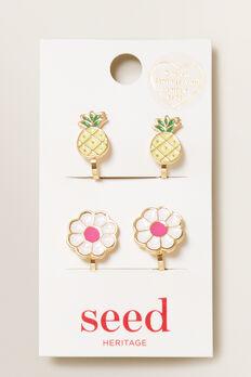 Fruit Clip On Earrings  MULTI  hi-res