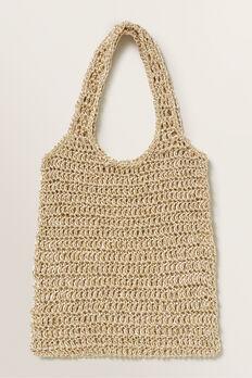 Metallic Market Bag  GOLD  hi-res