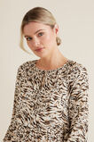 Resort Animal Print Dress  ANIMAL PRINT  hi-res