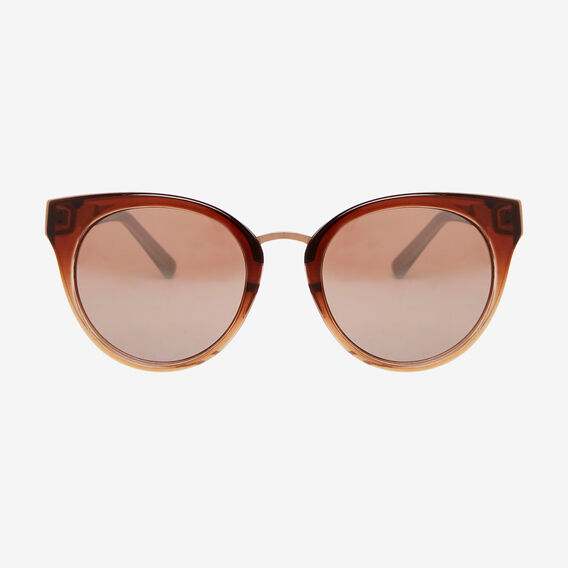 Eva Cat Eye Sunglasses  ROSE GOLD  hi-res