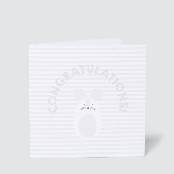 Large Congratulations Card  MULTI  hi-res