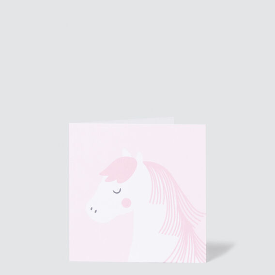 Small Horse Card  MULTI  hi-res