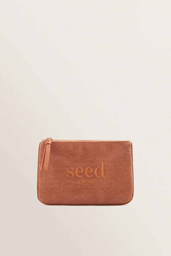 Seed Pouch  SUNBURNT ORANGE  hi-res