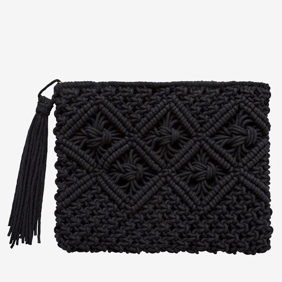 Amalfi Clutch  BLACK  hi-res