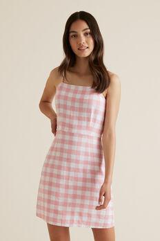 Gingham Dress  POMELO  hi-res