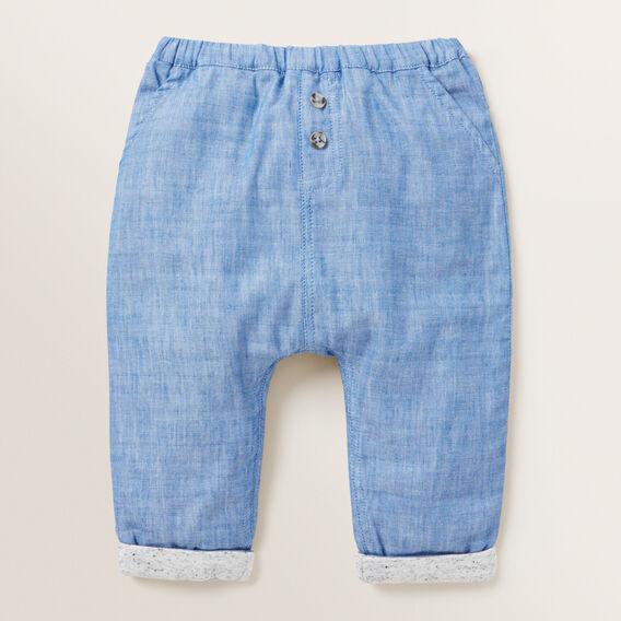 Cross Dye Pant  BRIGHT COBALT  hi-res