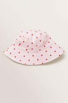 Heart Bucket Hat  ICE PINK  hi-res