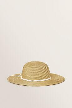 Gold Floppy Hat  GOLD  hi-res