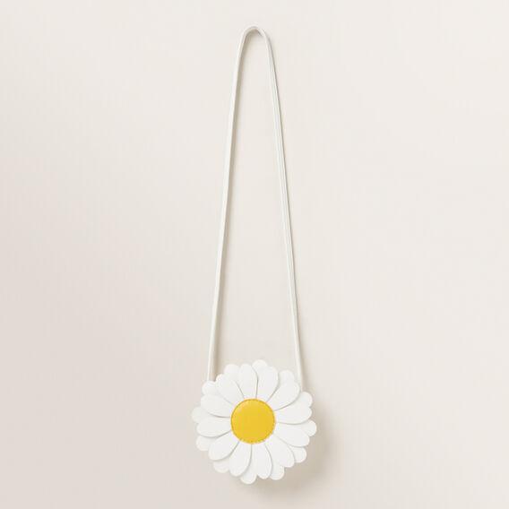 Daisy Flower Bag  WHITE  hi-res