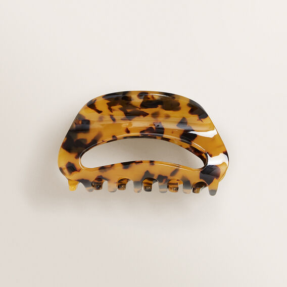Cut Out Hair Clip  TORT  hi-res