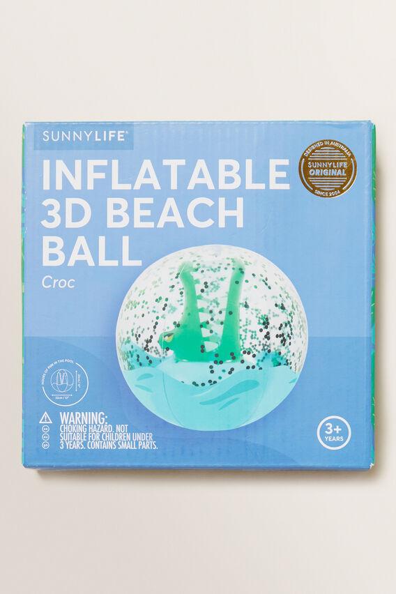 Croc 3D Beach Ball  MULTI  hi-res