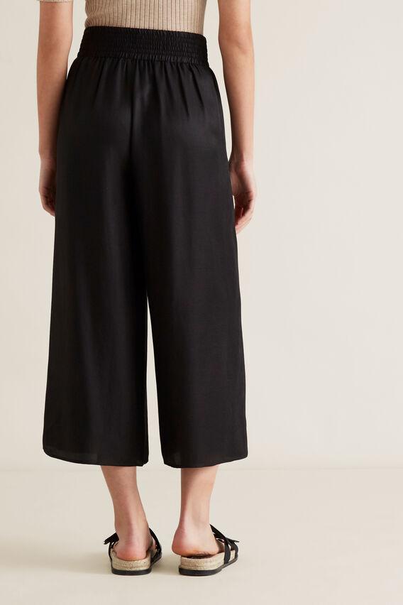 Soft Wide Leg Pant  BLACK  hi-res