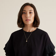 Shell Necklace  GOLD  hi-res
