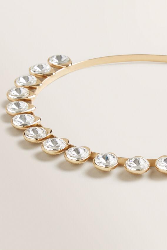 Stone Headband  GOLD  hi-res