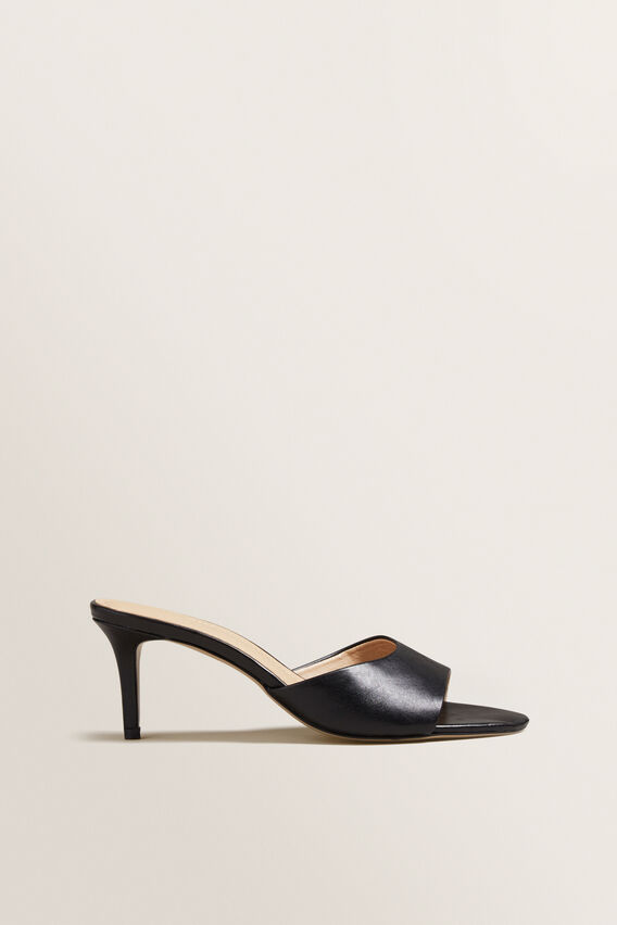 Morgan Mule Sandal  BLACK  hi-res