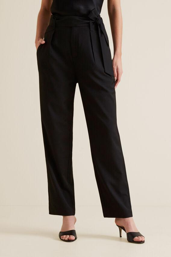 Paperbag Trouser  BLACK  hi-res