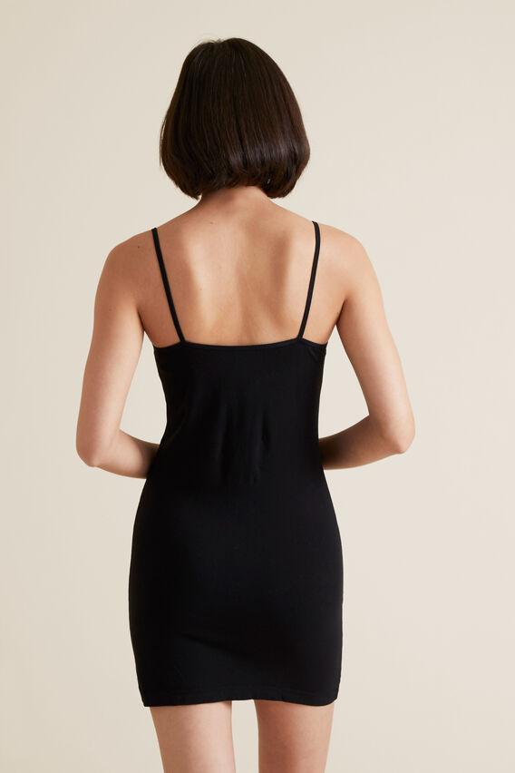 Seamfree Dress  BLACK  hi-res