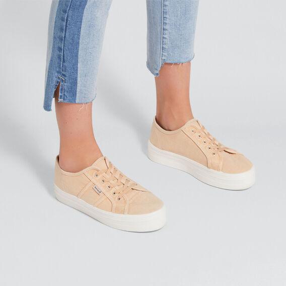 Billie Platform Sneaker  BEIGE  hi-res