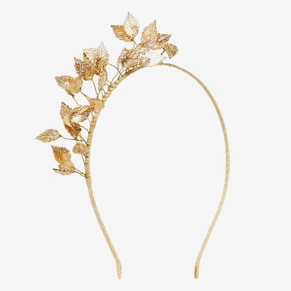 Little Leaf Headpiece  GOLD  hi-res