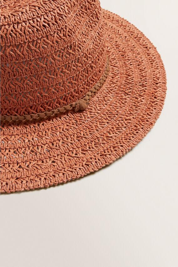 Tassel Band Panama  SUNBURNT ORANGE  hi-res