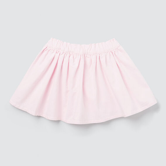 Flared Cord Skirt  ICE PINK  hi-res