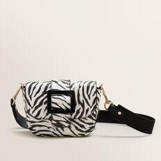 Buckle Cross Body Bag  ZEBRA  hi-res