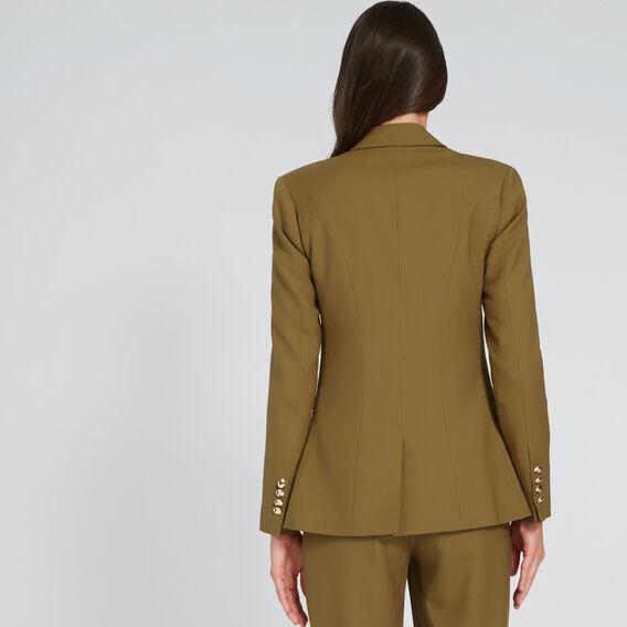 Tailored Blazer  DARK KHAKI  hi-res