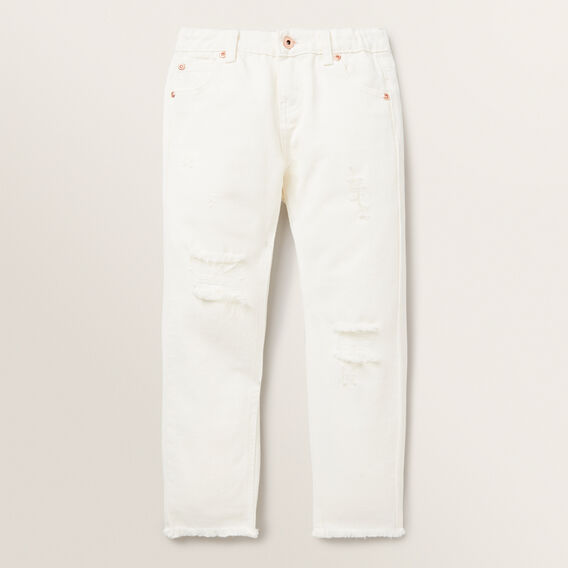 Distressed Jeans  BUTTERMILK  hi-res