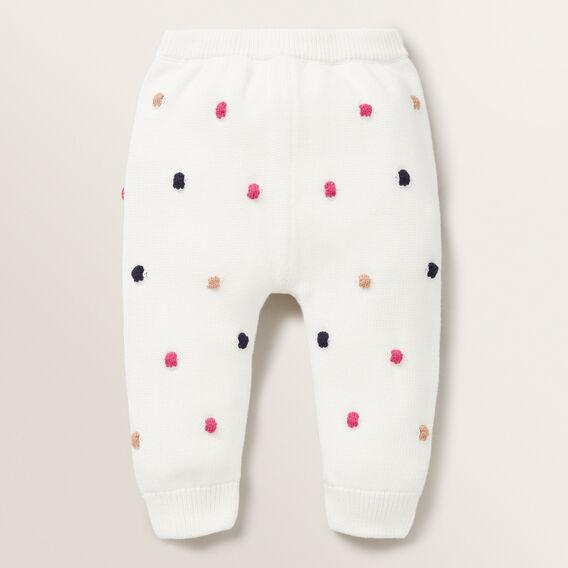 Bobble Knit Pant  BUTTERMILK  hi-res