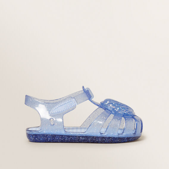 Shell Jelly Sandals  BLUE  hi-res