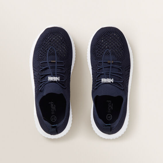 Knit Trainer  NAVY  hi-res