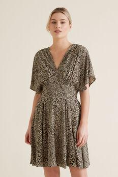 Animal Print Swing Dress  OCELOT  hi-res