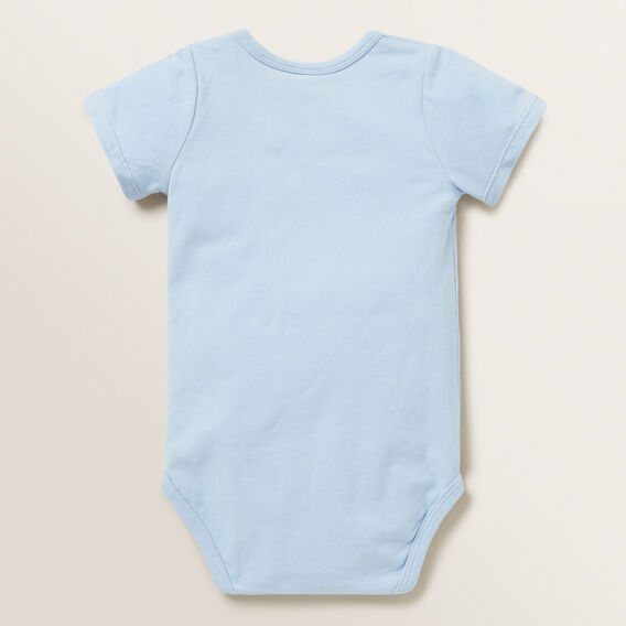 Little Bear Bodysuit  POWDER BLUE  hi-res