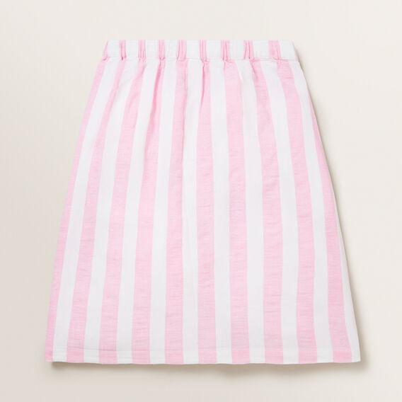 Stripe Linen Midi  PINK BLUSH/WHITE  hi-res