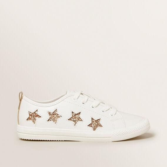 Star Trainer  WHITE/GOLD  hi-res