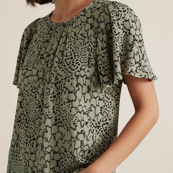 Spliced Animal Blouse  SPLICED ANIMAL  hi-res