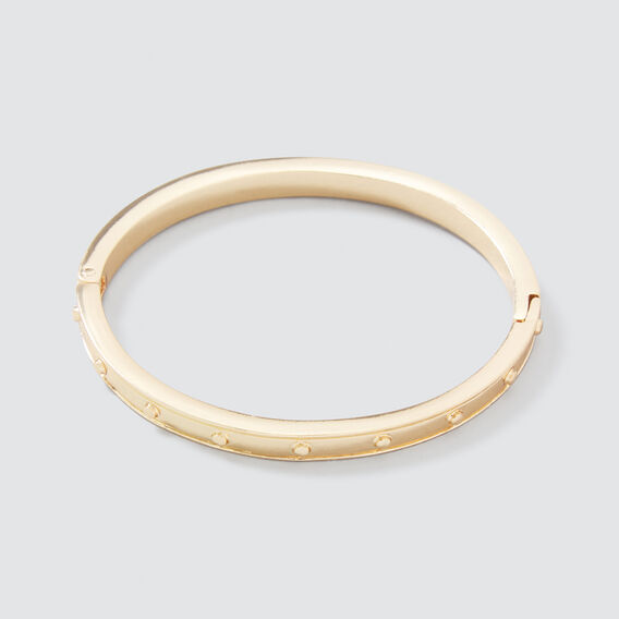 Studded Bangle  GOLD  hi-res