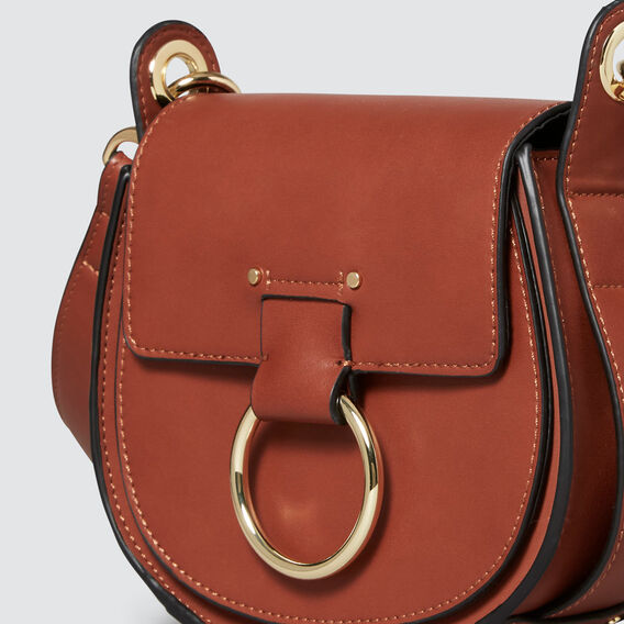 Dylan Mini Saddle Bag  COGNAC  hi-res