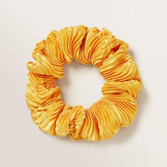 Crinkle Scrunchie  MARIGOLD  hi-res