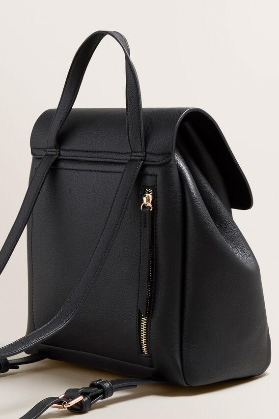Twin Pocket Backpack  BLACK  hi-res