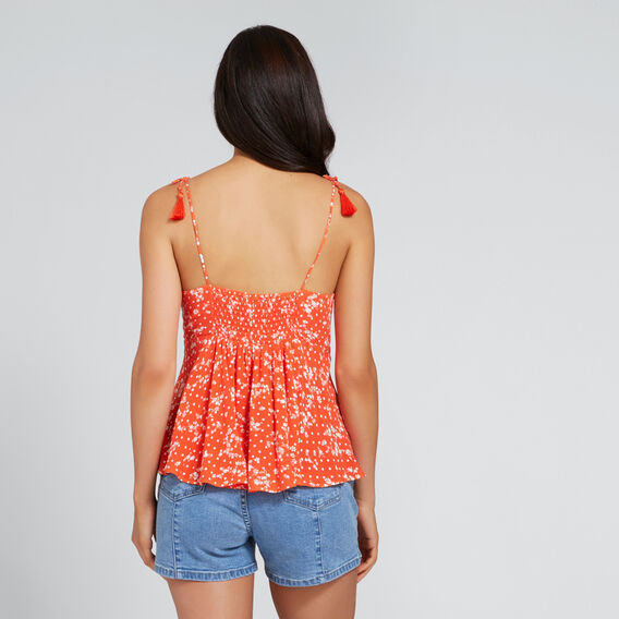 Pretty Bow Top  FLORAL  hi-res
