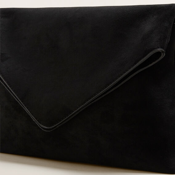 Margot Fold Over Pouch  BLACK  hi-res