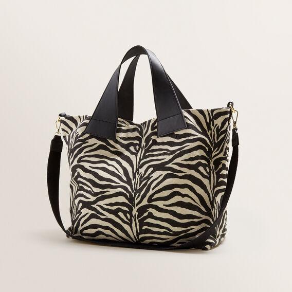 Alika Zebra Tote  BLACK MULTI  hi-res