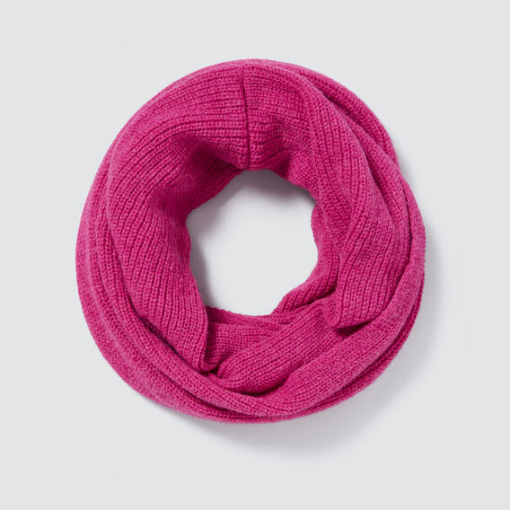 Fine Knit Snood  FUSCHIA  hi-res