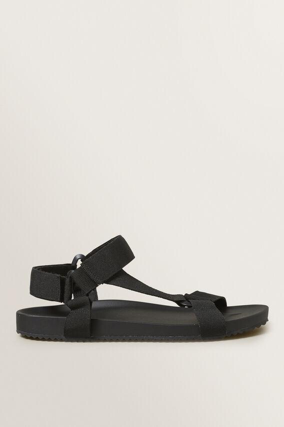 Strap Sandal  BLACK  hi-res